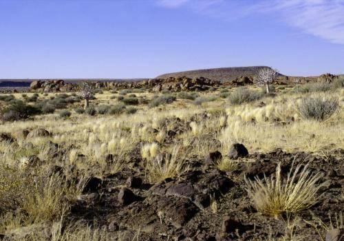 Landschaftsformen im Süden Namibias