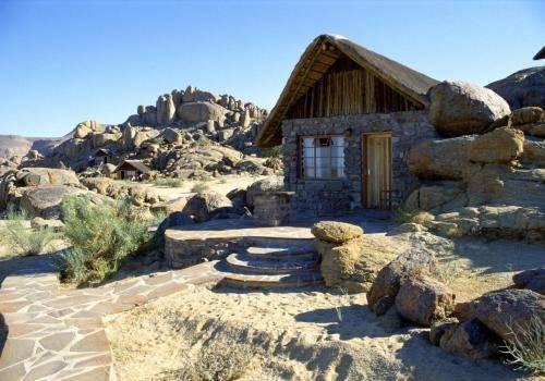 """Canyon Lodge """"Unterkunftshäuschen"""" in Namibia"""