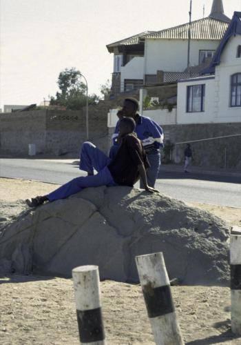 Menschen in Lüderitz