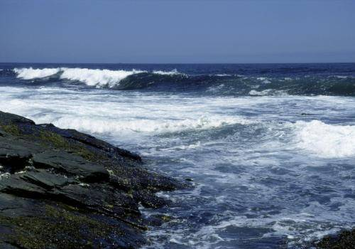 Meeresbrandung im südlichem Atlantik