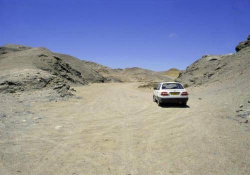 Straßen und Wege im Hinterland von Lüderitz