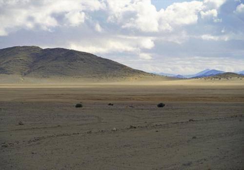 Wüstenlandschaft bei Lüderitz