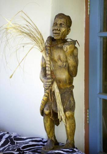 Südafrikanische Schnitzereiarbeiten