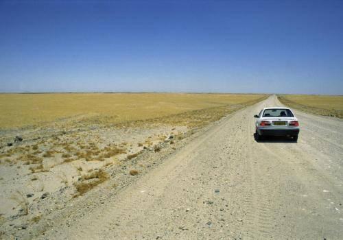 Wüstenstraße nach Swakopmund