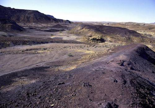 Verbrannte Berge bei Twyfelfontein