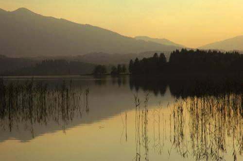 Abendstimmung am Staffelsee, Bayern