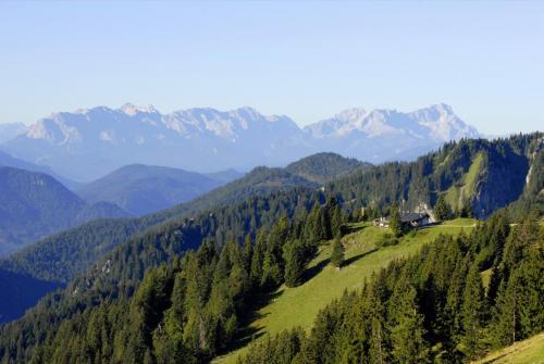 Wanderung vom Brauneck zum Latschenkopf