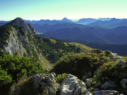 Aufstieg zur Benediktenwand