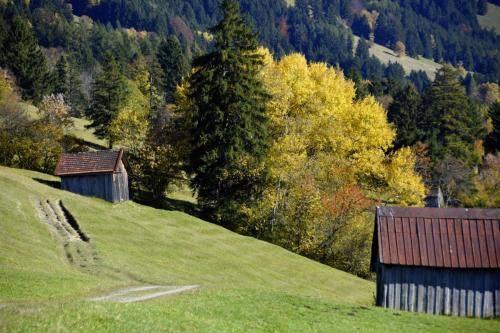 Das Ammertal bei Oberammergau