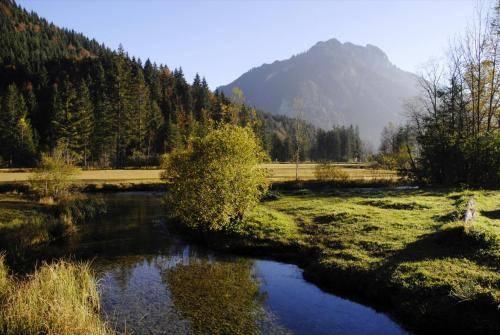 Herbststimmung im Graswangtal