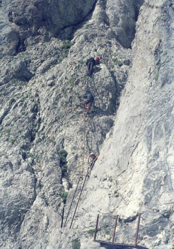 Klettersteige in der Brenta  1968, Trentino
