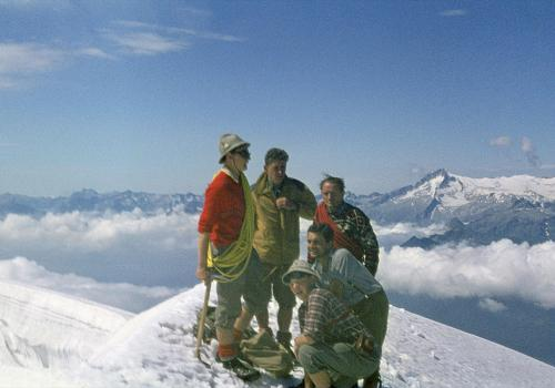 Die Cima Tosa, der höchste Gipfel in der Brenta, Italien (Motiv stammt aus dem Jahr 1968)