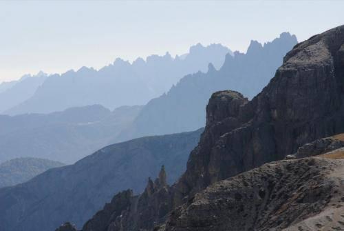 Blick in die Dolomitenwelt