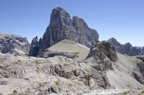 Zwölferkofel in den Sextner Dolomiten