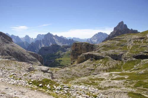 Blick von der Büllelejochhütte