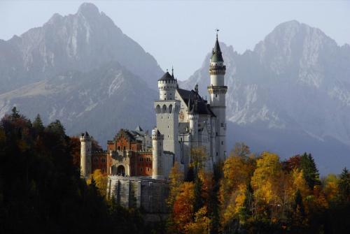 Herbstliche Stimmung bei Schloß Neuschwanstein