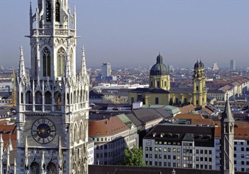 Blick vom Alten Peter in München