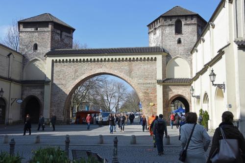Das Sendlinger Tor in München
