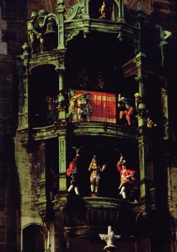 Glockenspiel am Münchner Rathaus