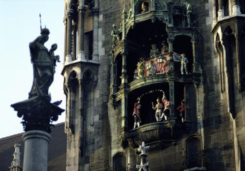 Glockenspiel des Münchner Rathauses