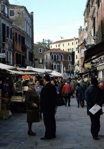 Markt in Venedig