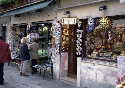 Souvenirläden in Venedig