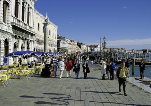 Promenade in Venedig