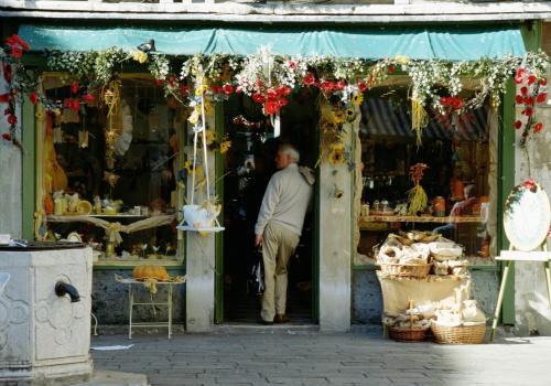Souvenirladen in Venedig