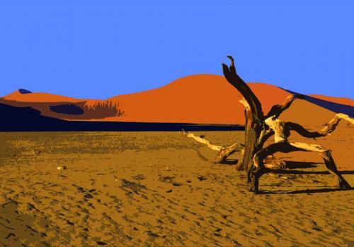 Toten Vlei im Naukluft Nationalpark in Namibia