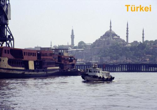 Hafen in Istanbul