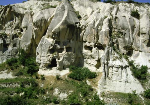 Höhlenwohnungen bei Nevsehir