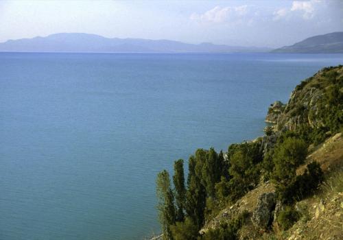 Egirdirsee in Anatolien Türkei