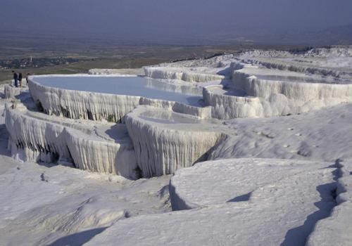 Kalksteinterrassen bei Pamukkale