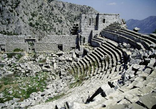 Alte Theaterruine Türkei