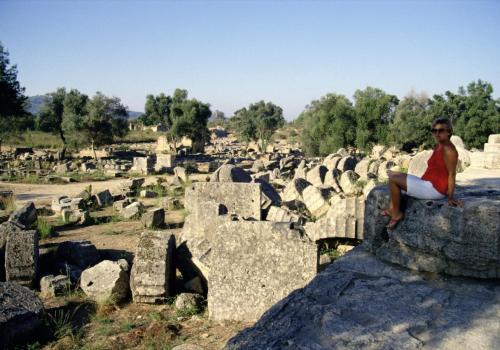 Olympus, Ausgrabungsstätte, Peloponnese