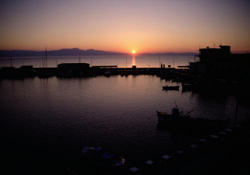 Sonnenuntergang in Griechenland