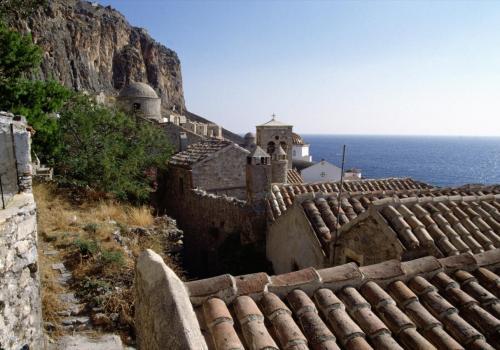 Griechische Inselidylle am Meer
