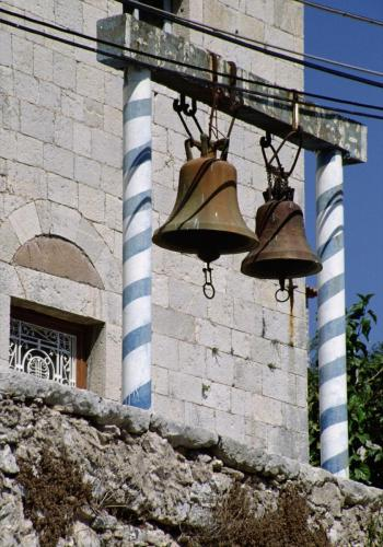 lte griechisch-orthodoxe Kirche auf der Halbinsel Mani, Peloponnese, Griechenland