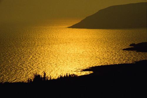 Abendstimmung in der Nähe von Kalamata; Griechenland