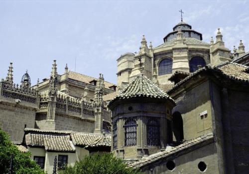 Kirche in Granada, Andalusien, Spanien