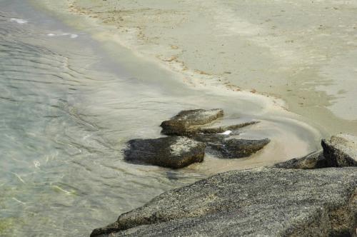 Wasser Impressionen am Elafanisi Beach in Westkreta