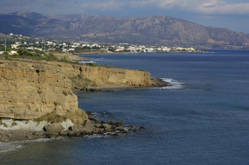 Der Südosten Kretas, im Hintergrund Irapetra