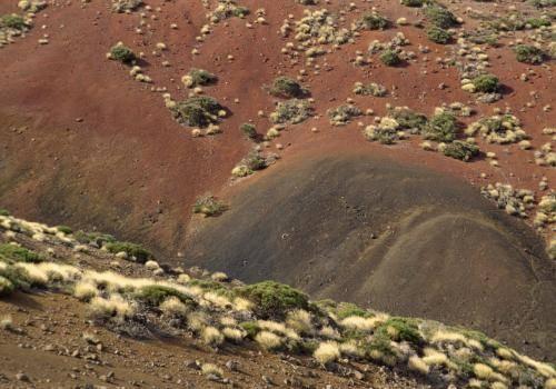 Kraterlandschaft auf Teneriffa