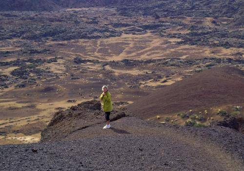 Kraterlandschaften auf Teneriffa
