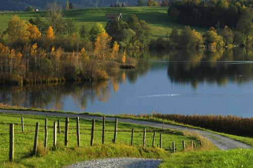 Riegsee bei Murnau, Oberbayern