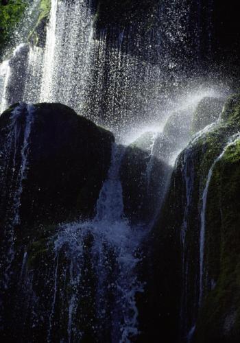 Schleierwasserfälle an der Ammer