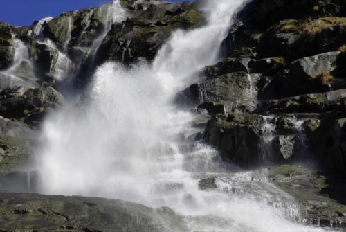 Wasserfall im Adamellogebirge