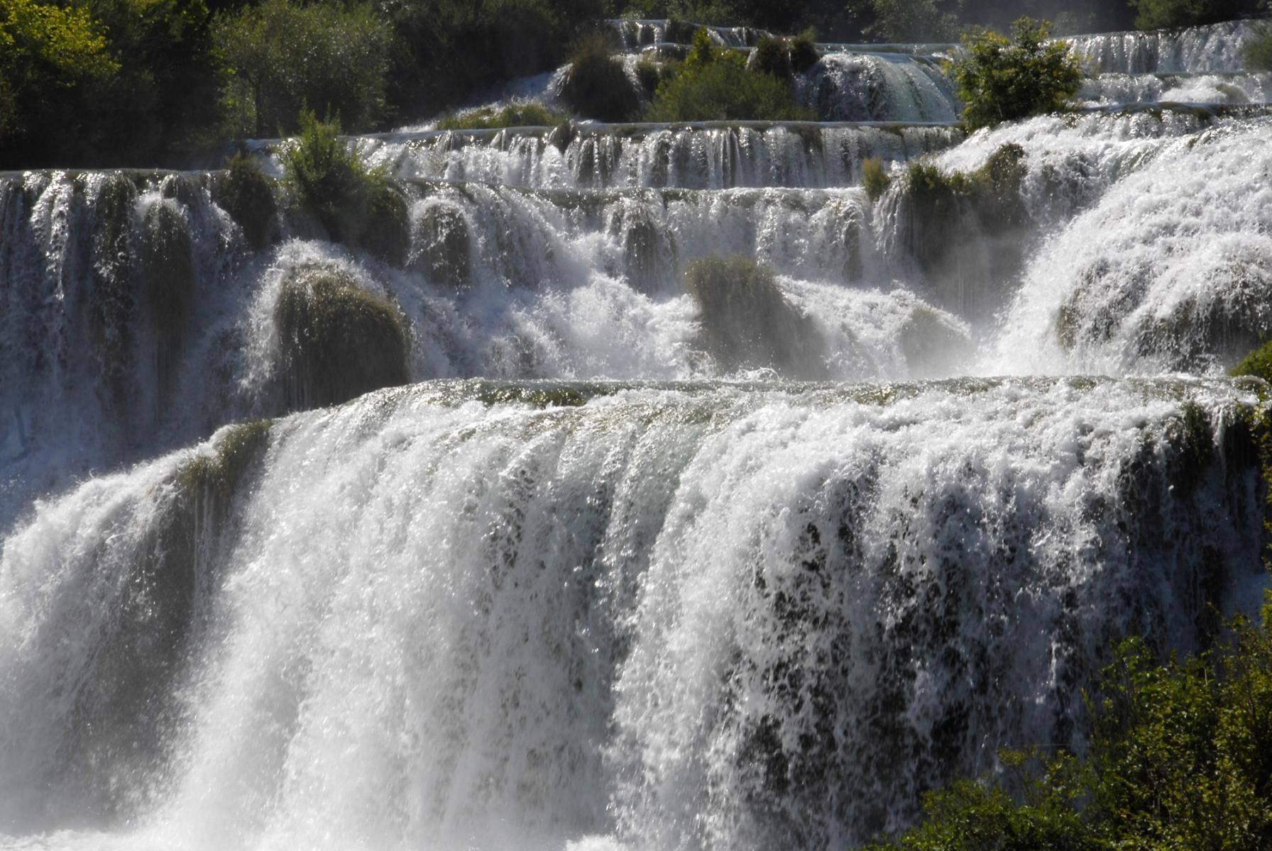Krika Wasserfälle