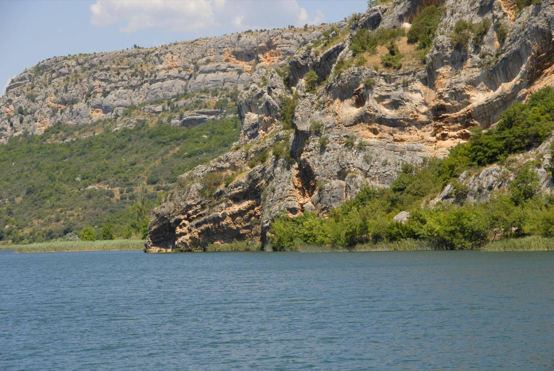 Flussschifffahrt auf der Krka