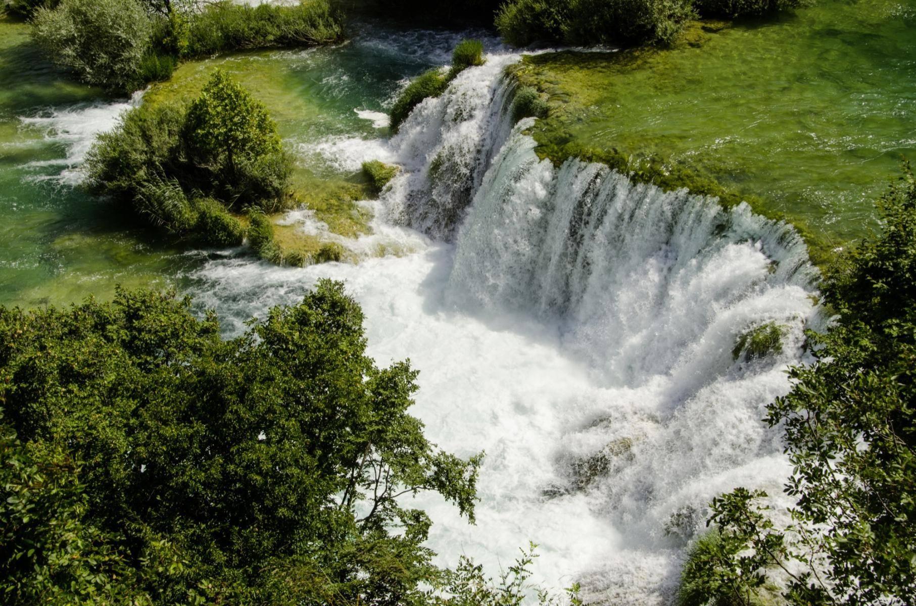 Krka Wasserfälle im Krka Nationalpark
